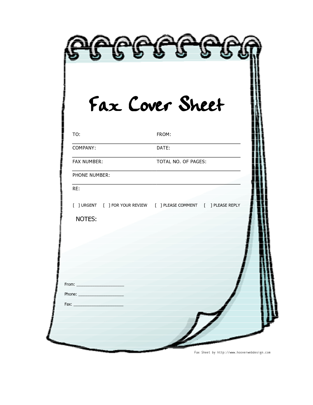 Free Printable Fax Cover Sheets | Free Printable Fax Cover Sheet - Free Printable Fax Cover Sheet Pdf