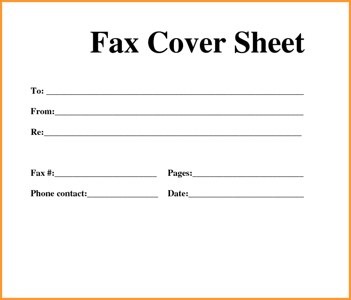 Free Printable Fax Cover Sheets - Tutlin.psstech.co - Free Printable Fax Cover Sheet