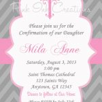 Free Printable First Communion Invitations Free Printable First   Free Printable 1St Communion Invitations