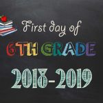 Free Printable First & Last Day Of School Signs 2018 2019   Neatlings   Free Printable First Day Of School Signs 2017