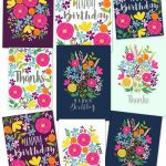 Free Printable Flower Greeting Cards   A Piece Of Rainbow   Free Printable Cards