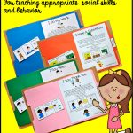 "Free, Printable ""folder Stories."" Simple One Page Social Stories   Free Printable Social Stories For Kids"