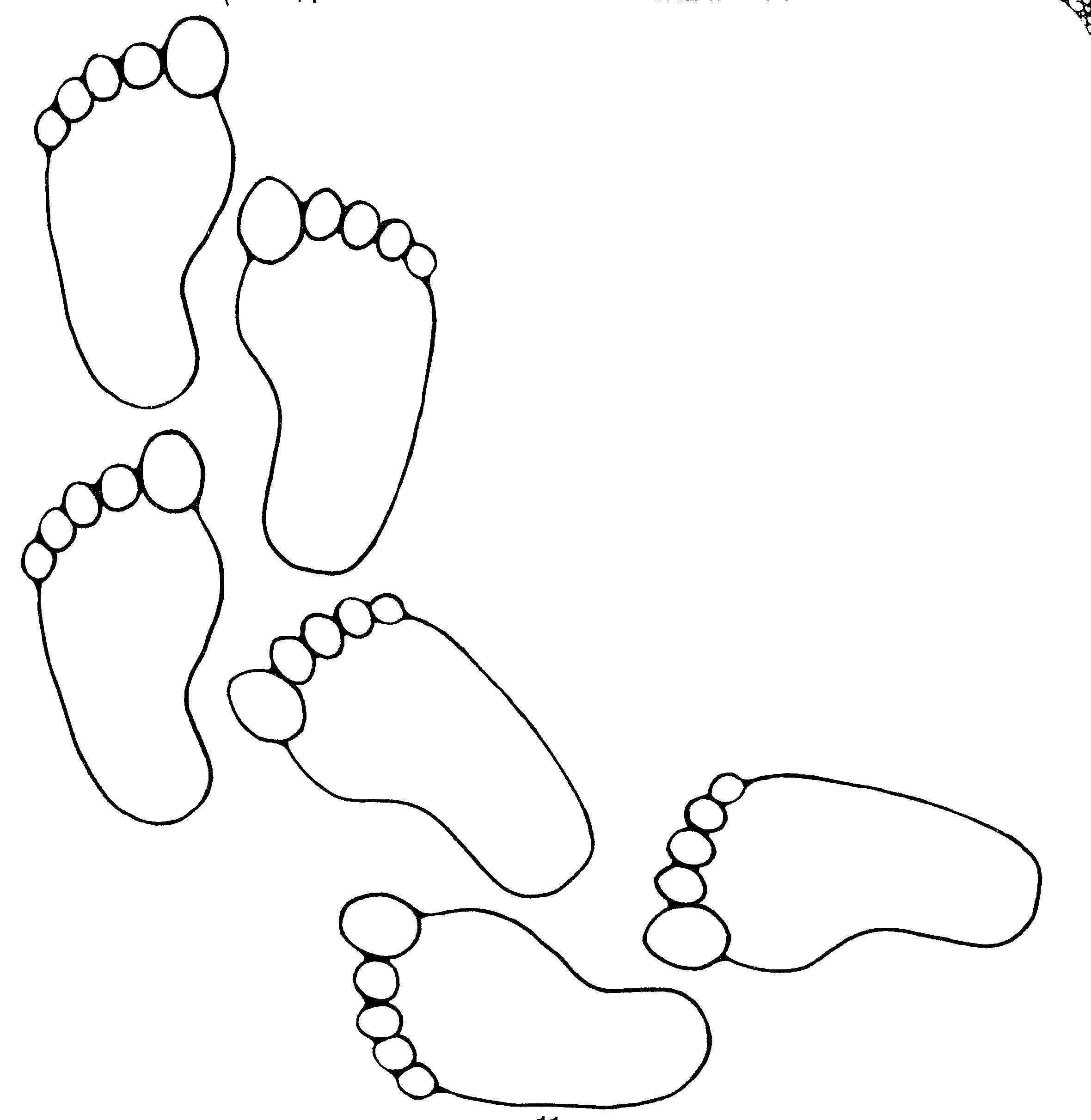 Free Printable Footprints, Download Free Clip Art, Free Clip Art On - Free Printable Footprints