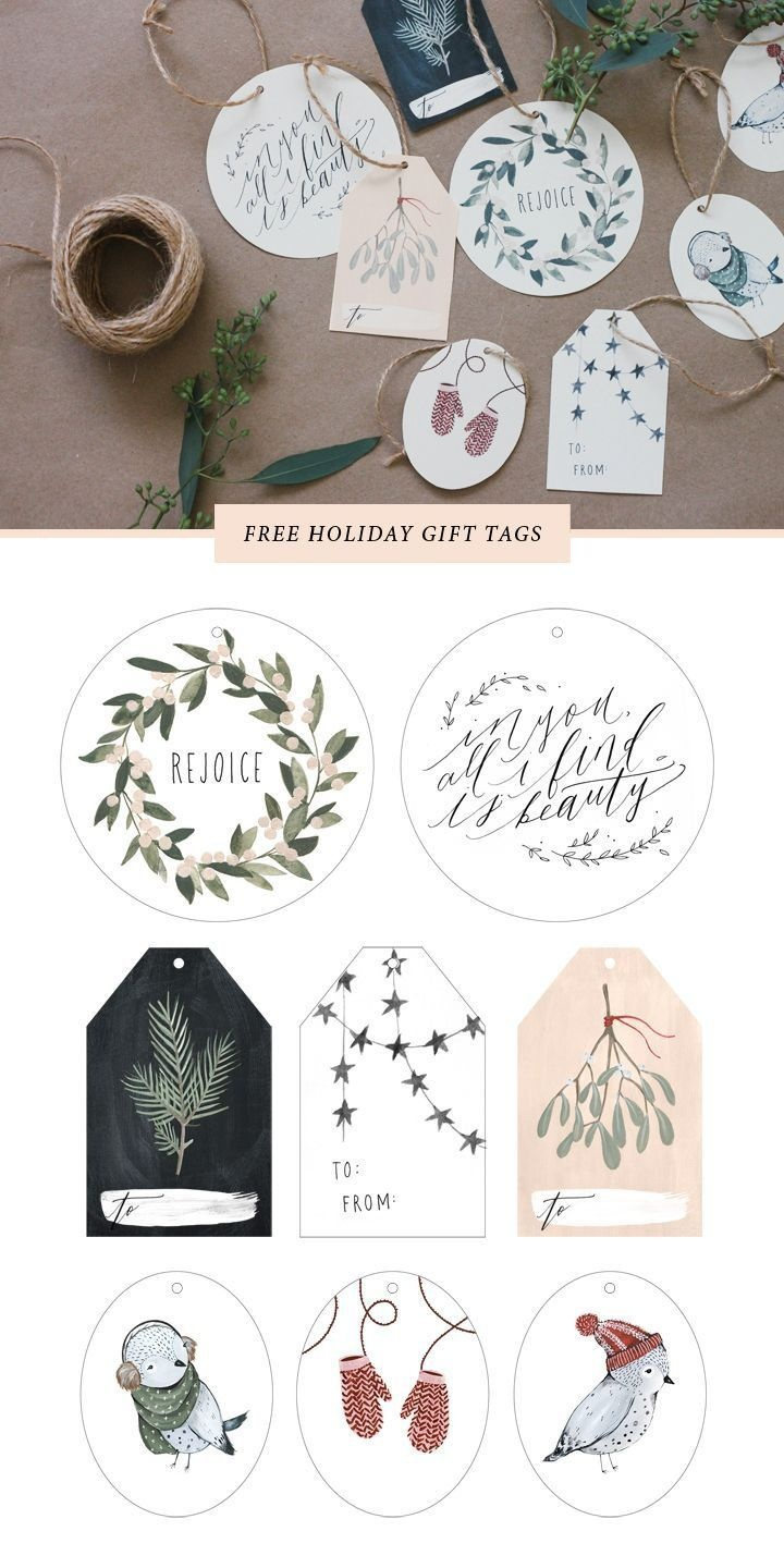 Free Printable Gift Tags | Xmas My Inspirations | Christmas Gift - Diy Gift Tags Free Printable