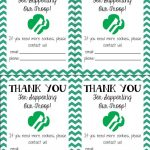 Free Printable! Girl Scout Cookie Thank You Cards | Girl Scouts   Free Printable Eagle Scout Thank You Cards