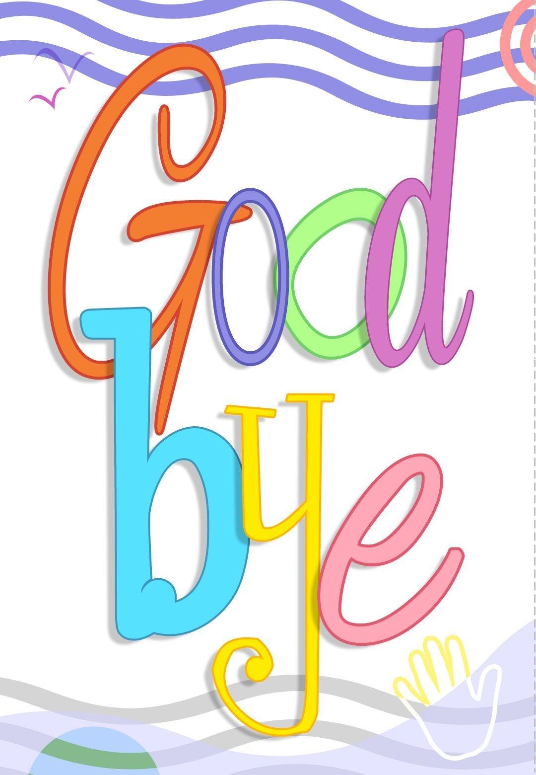 Free Printable Good Bye Greeting Card | Good Ideas | Goodbye Cards - Free Printable Farewell Card For Coworker