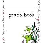 Free Printable Grade Books   Free Printable Grade Sheet