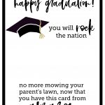 Free Printable Graduation Card   Paper Trail Design   Free Printable Graduation Cards