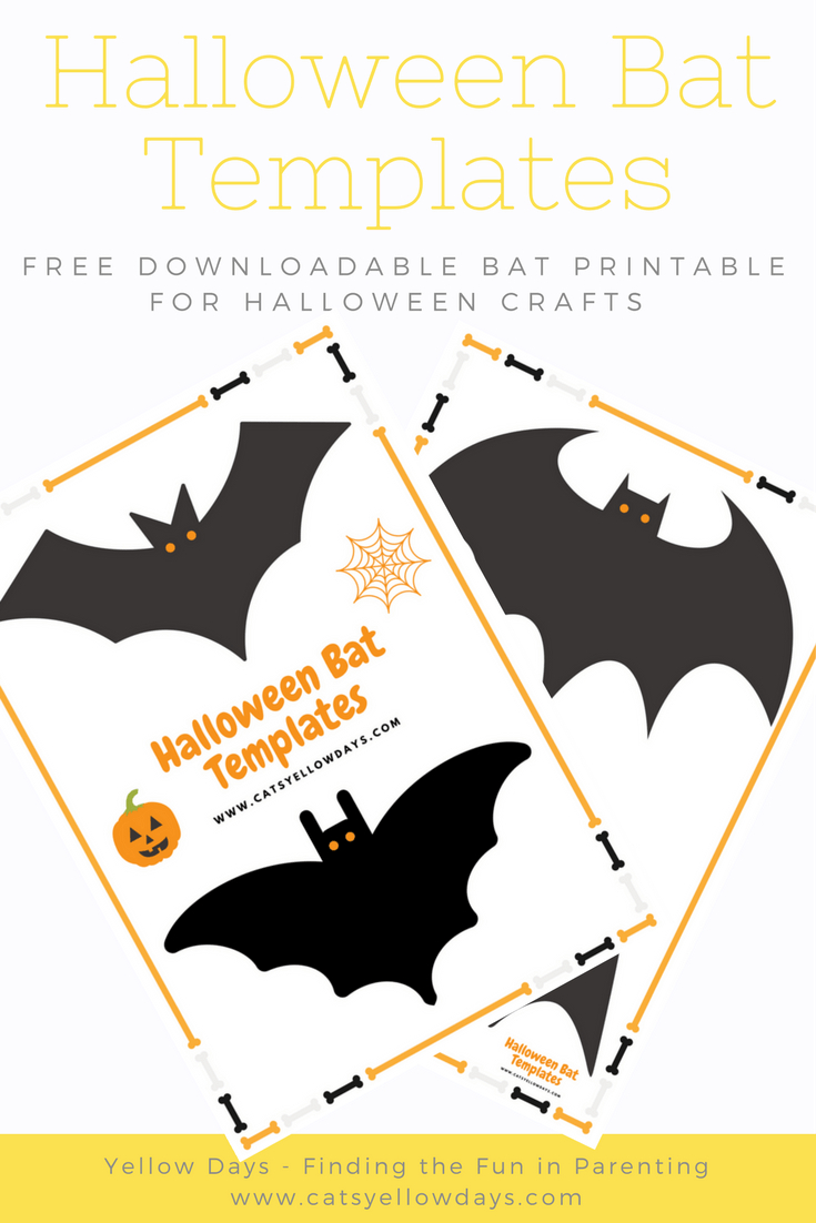 Free Printable Halloween Bat Cut Out Template For Crafts And Decor - Halloween Crafts For Kids Free Printable