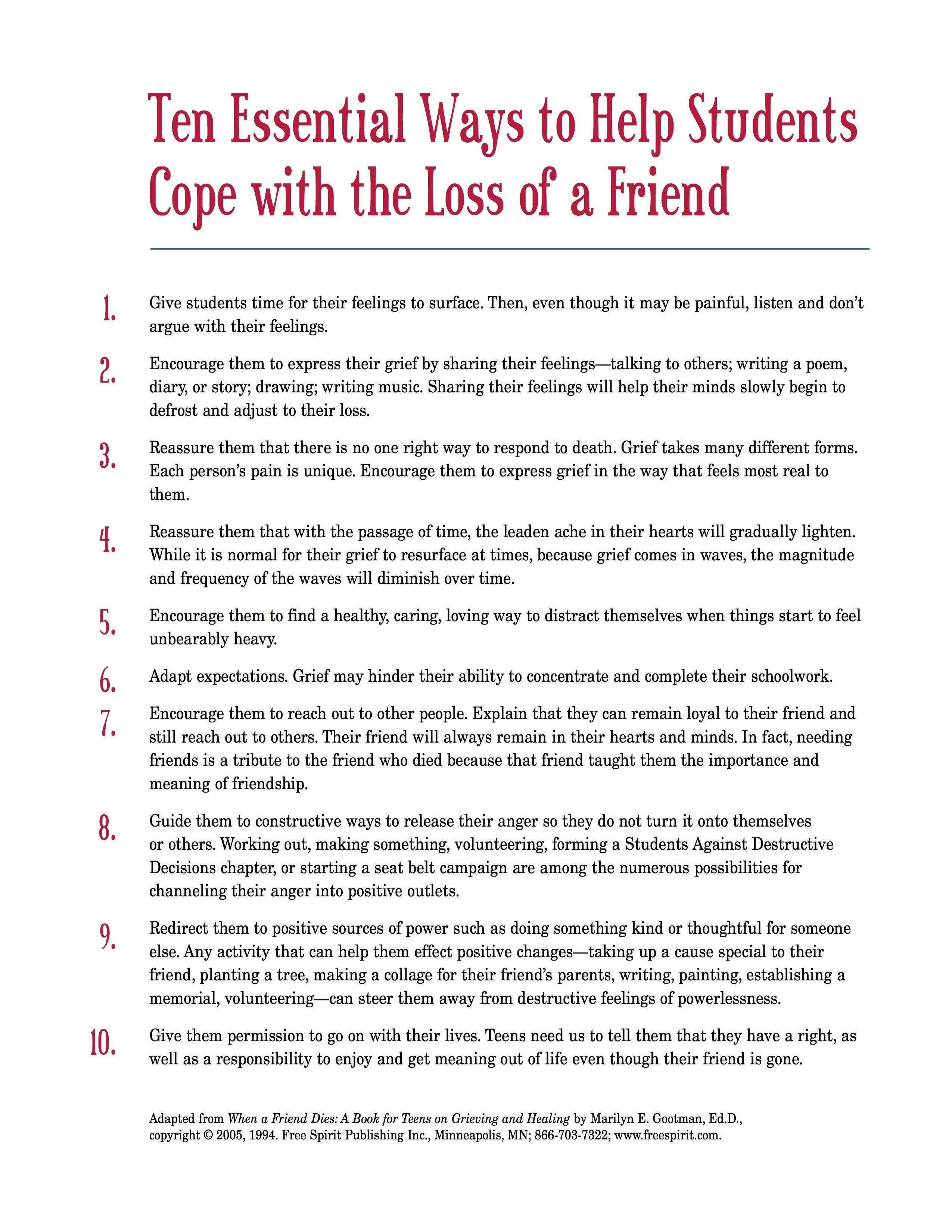 Free Printable Handout That School Counselors Can Share With - Free Printable Patient Education Handouts