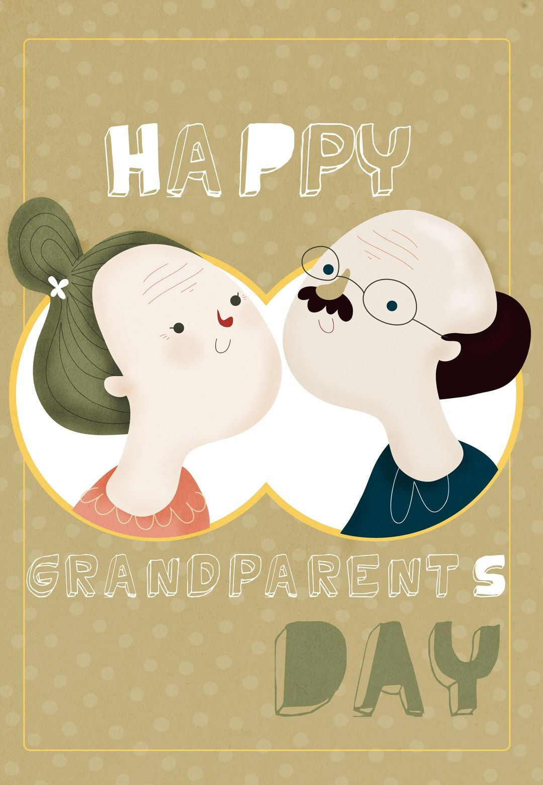 Free Printable Happy Grandparents Day Greeting Card | Grandparents - Free Printable Easter Cards For Grandchildren