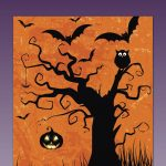 Free Printable Happy Halloween Card Or Party Invitation | Free Party   Printable Halloween Cards To Color For Free