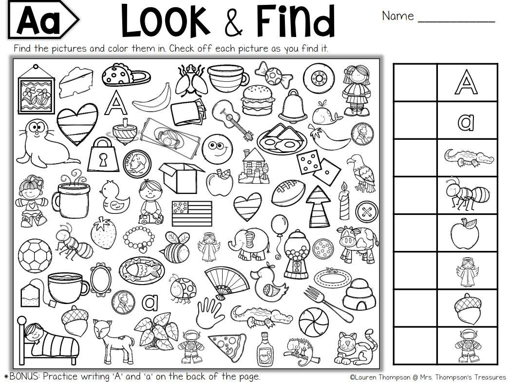 Free, Printable Hidden Picture Puzzles For Kids - Free Printable Hidden Picture Puzzles For Adults
