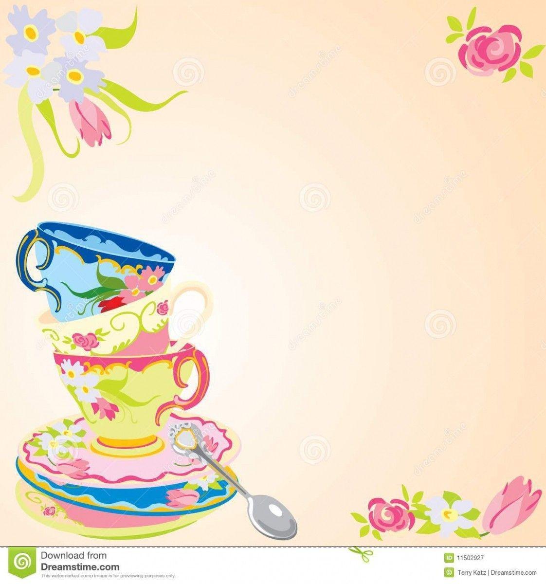 Free Printable High Tea Party Invitations | Work In 2019 | Tea Party - Free Printable Kitchen Tea Invitation Templates