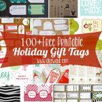 Free Printable Holiday Gift Tags   Diy Christmas Gift Tags Free Printable