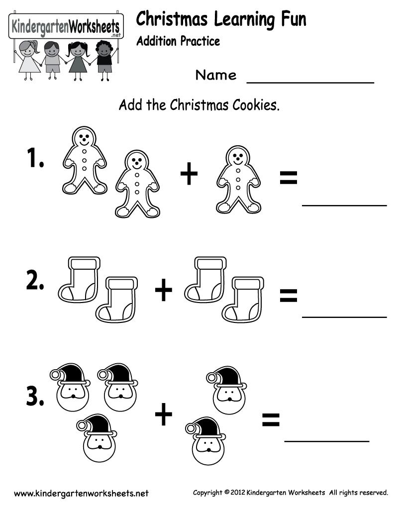 Free Printable Holiday Worksheets   Free Christmas Cookies Worksheet - Free Printable Holiday Worksheets