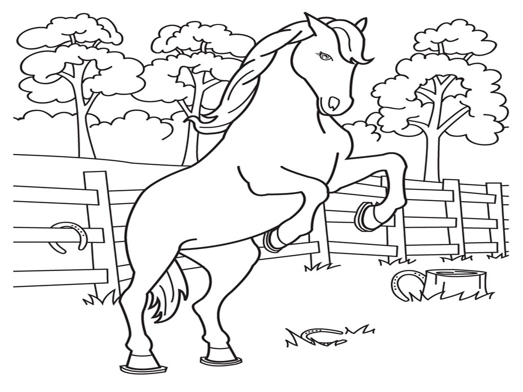Free Printable Horse Coloring Pages For Kids - Free Printable Horse Coloring Pages