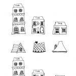 Free Printable House Templates | Printables | New Home Cards, House   Free Printable Card Templates
