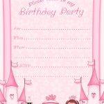 Free Printable Invitation. Pinned For Kidfolio, The Parenting Mobile   Free Princess Printable Invitations