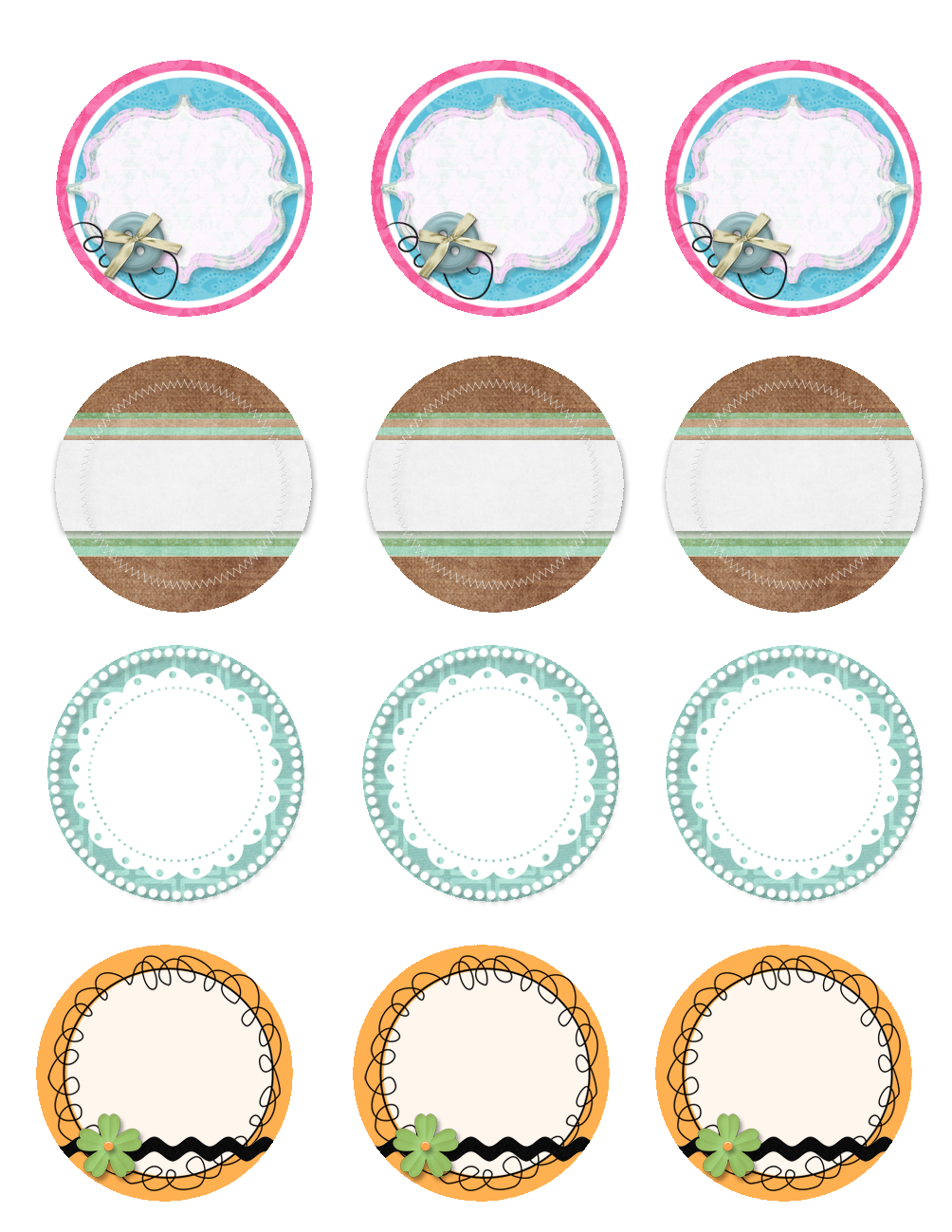 Free Printable Jar Labels. | Diy | Mason Jar Lids, Jar Lids, Canning - Free Printable Jar Label Templates
