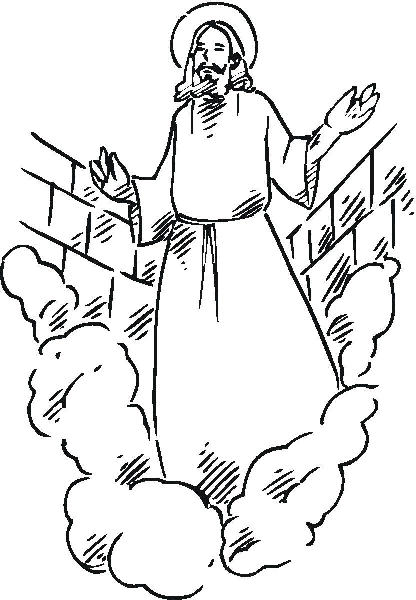 Free Printable Jesus Coloring Pages For Kids - Free Printable Jesus Coloring Pages