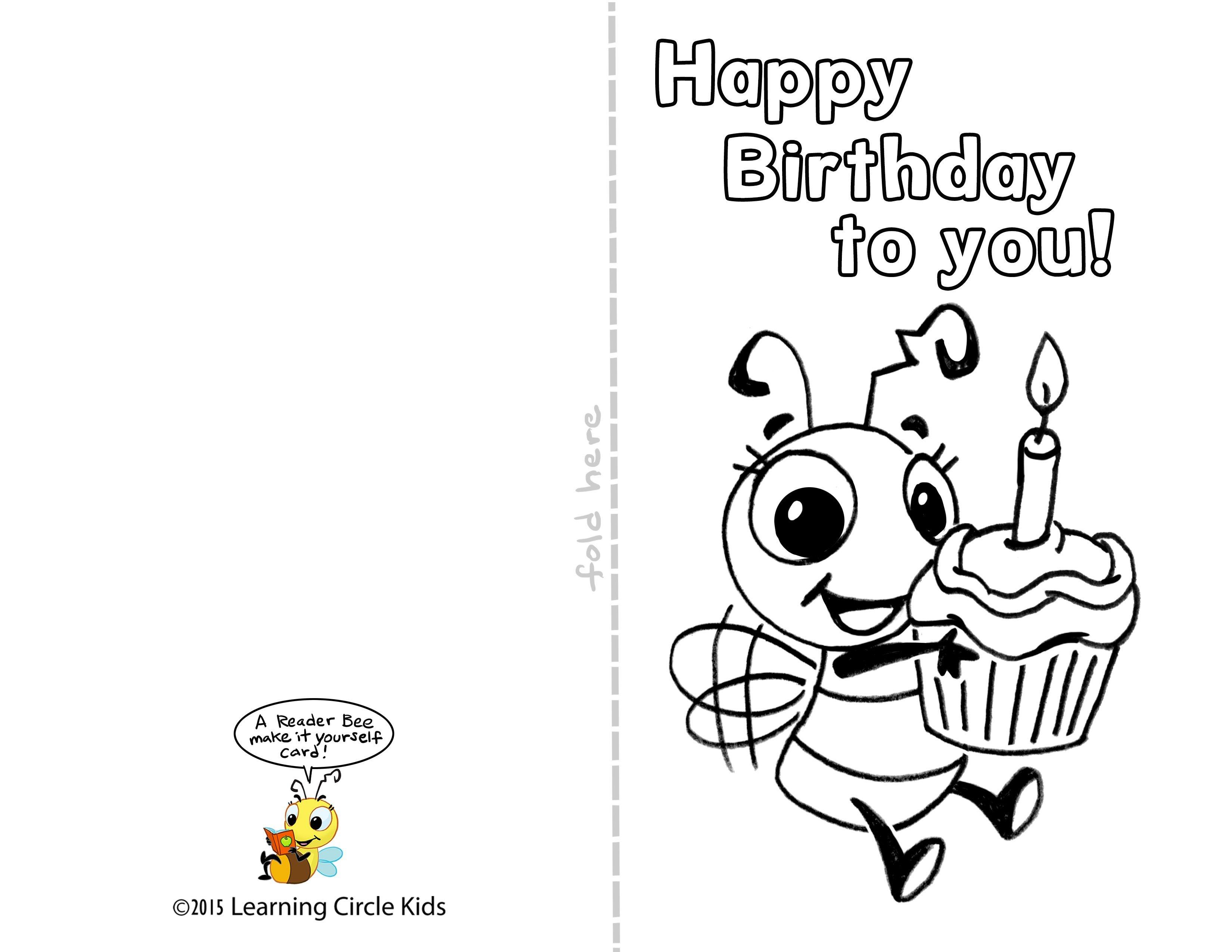 Free Printable Kids Birthday Cards Boys - Tutlin.psstech.co - Free Printable Kids Birthday Cards Boys