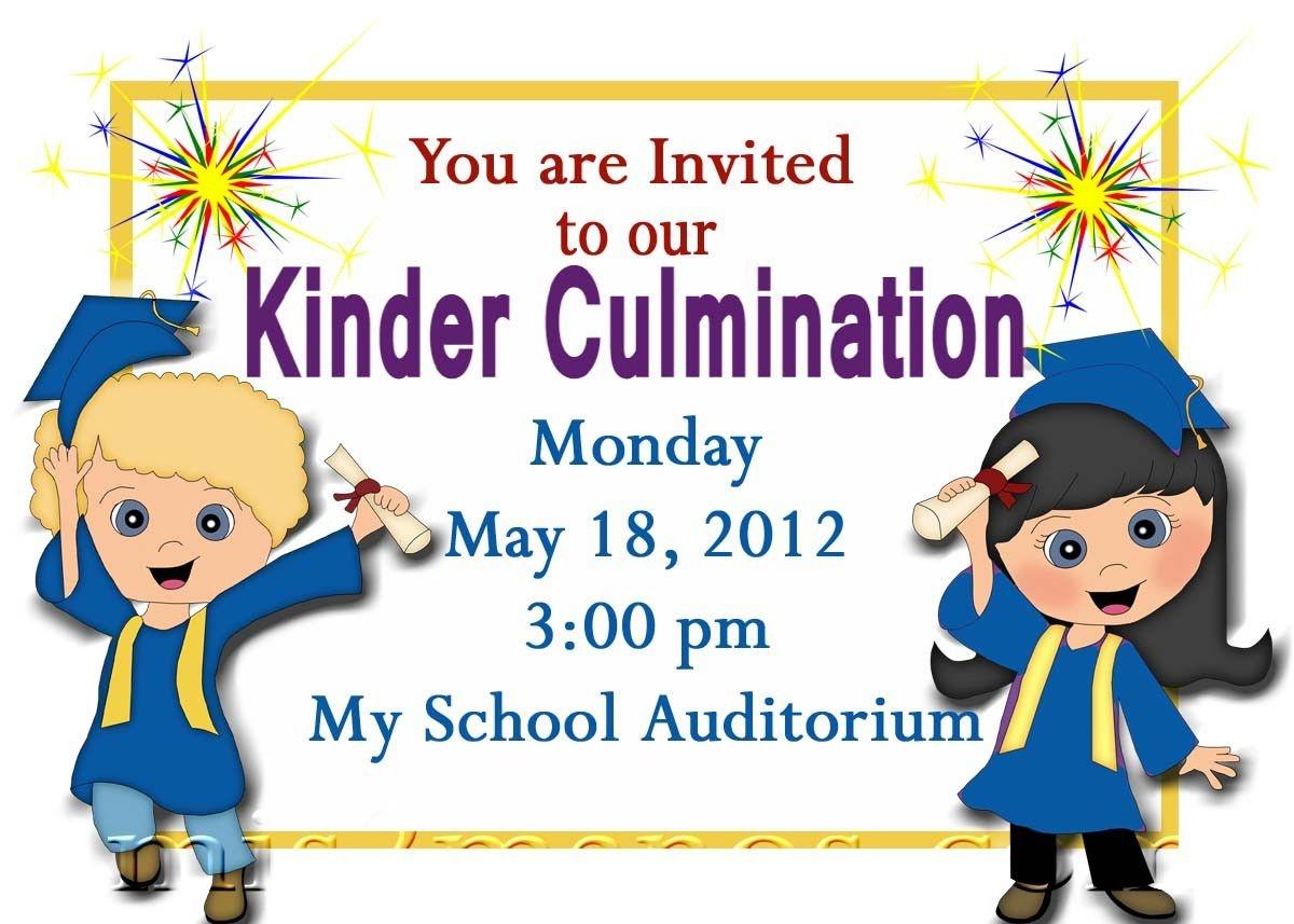 Free Printable Kindergarten Graduation Announcements. Graduation - Free Printable Kindergarten Graduation Clipart