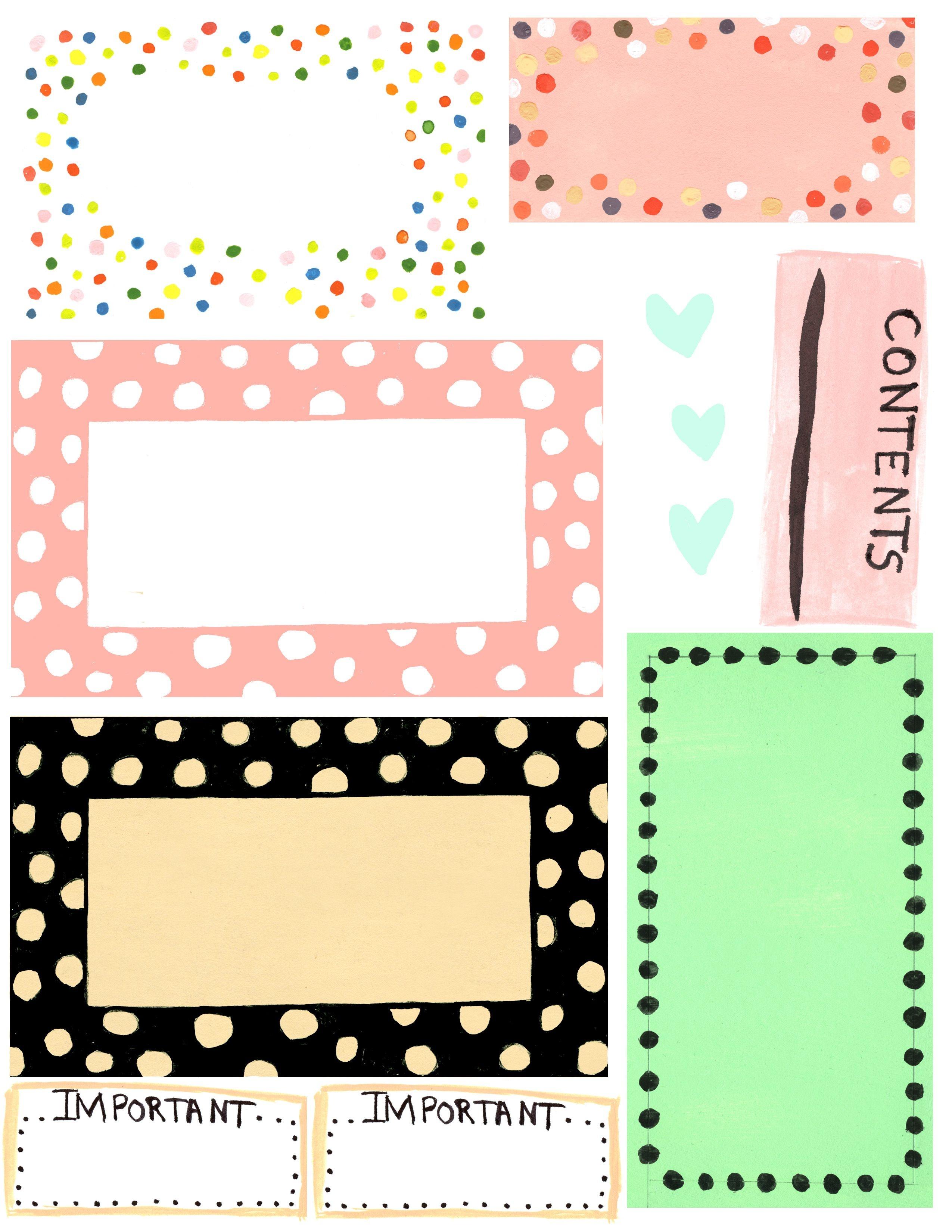 Free Printable Label Design Template Cakepins | Christmas Place - Free Editable Printable Labels