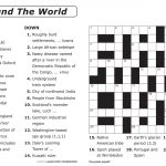 Free Printable Large Print Crossword Puzzles | M3U8   Free Printable Crossword Puzzles