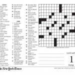 Free Printable Large Print Crossword Puzzles | M3U8   Free Printable Crosswords Easy