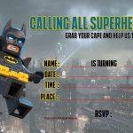Free Printable Lego Batman The Movie Invitation   Free Printable   Free Printable Lego Batman