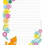 Free Printable Letter Paper   Printables To Go   Free Printable   Free Printable Stationary Pdf
