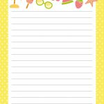 Free Printable Letter Paper | Printables To Go | Free Printable   Writing Borders Free Printable