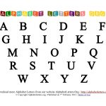 Free Printable Letter Worksheets | Activity Shelter   Free Printable Letters And Numbers