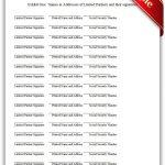 Free Printable Limited Partnership Agreement Legal Forms | Printable   Free Sample Coupons Printable