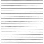 Free Printable Lined Paper For Kindergarten   Kaza.psstech.co   Free Printable Kindergarten Lined Paper Template