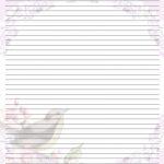 Free Printable Lined Stationary   Printable Writing Paper (67)   Free Printable Writing Paper For Adults