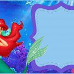 Free Printable Little Mermaid Invitation Template | Mermaid Party In   Free Little Mermaid Printable Invitations