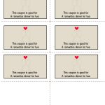 Free Printable Love Coupons   Free Printable Love Coupons