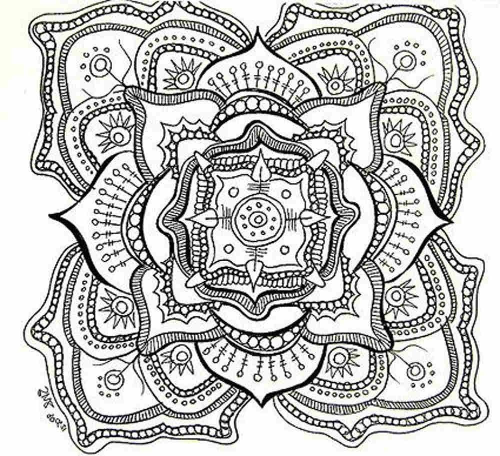 Free Printable Mandala Coloring Pages For Adults   Adult Coloring - Free Printable Mandala Coloring Pages
