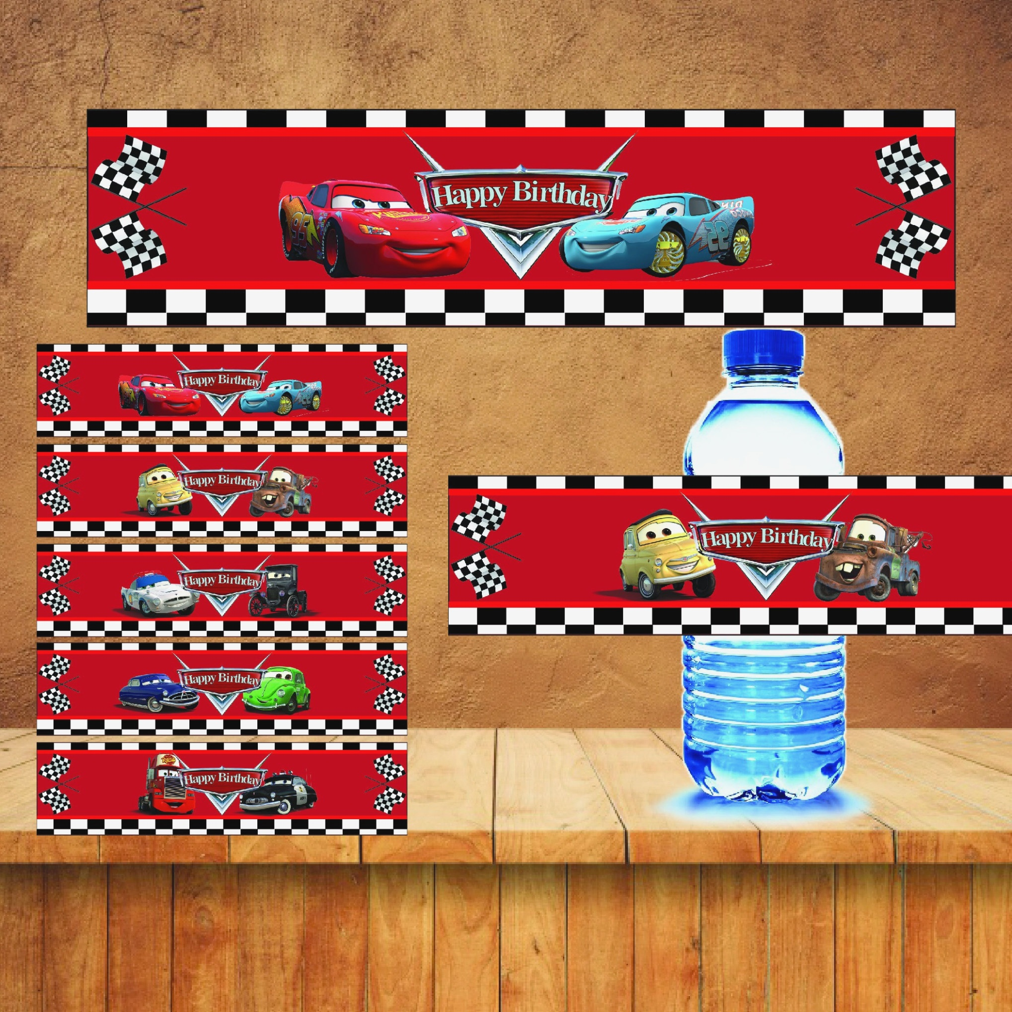 Free Printable Mario Water Bottle Labels Disney Cars Drink Label - Free Printable Disney Cars Water Bottle Labels