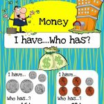 Free Printable Math Game: Money I Have, Who Has? | Homeschooling   Free Printable Game Money
