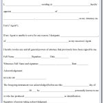 Free Printable Medical Power Of Attorney Form Alabama   Form   Free Printable Medical Power Of Attorney