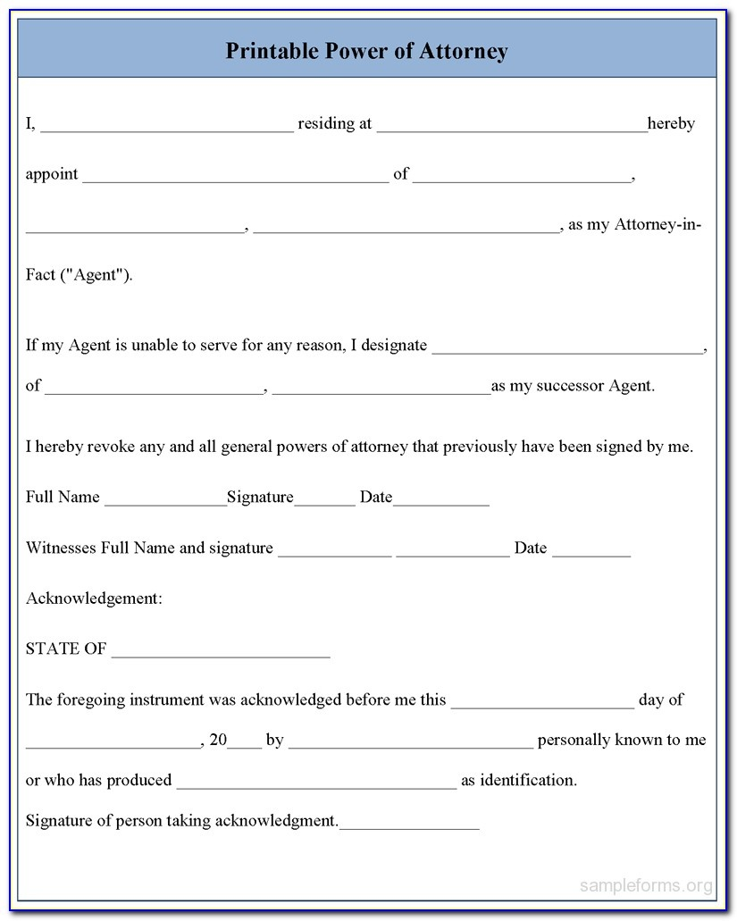 Free Printable Medical Power Of Attorney Form Alabama - Form - Free Printable Power Of Attorney Forms