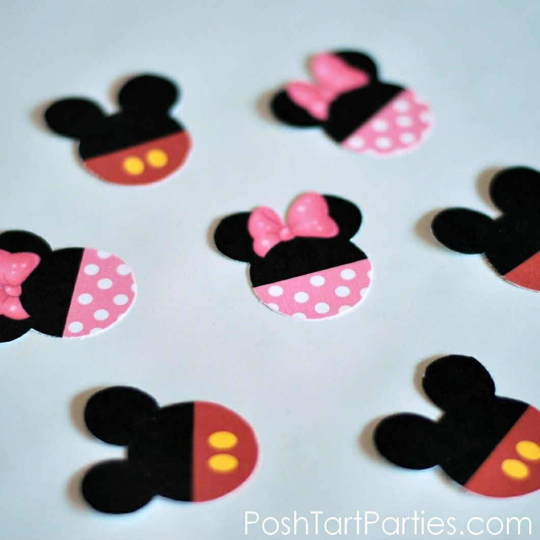 Free Printable Mickey & Minnie Mouse Cupcake Wrappers And Toppers - Free Printable Minnie Mouse Cupcake Wrappers