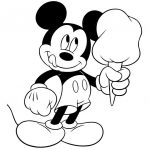 Free Printable Mickey Mouse Coloring Pages For Kids   Paper   Free Printable Minnie Mouse Coloring Pages