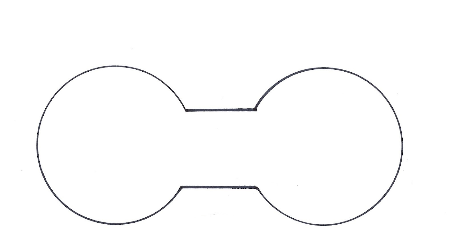 Free Printable Mickey Mouse Ears Template, Download Free Clip Art - Free Printable Minnie Mouse Ears Template