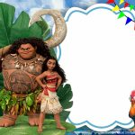 Free Printable Moana Birthday Invitation Template | Bagvania   Free Moana Printable Invitations