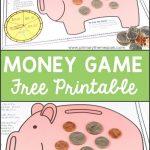 Free Printable Money Game | Homeschool | Money Activities, Second   Free Printable Game Money