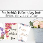 Free Printable Mother's Day Cards And Gift Tags   Free Printable Mothers Day Gifts
